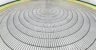 Round tiles