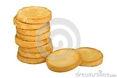 Round toast