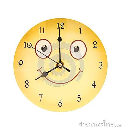 Round toy clock