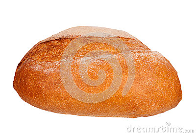 Round white bread