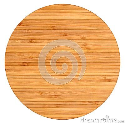 Round wooden board