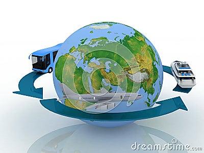 Round world voyage