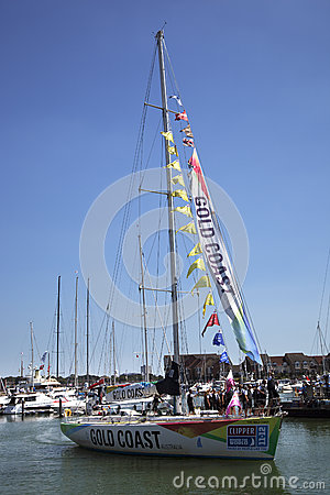Round the World Yacht Race Editorial Image