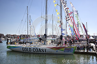 Round the World Yacht Race Editorial Photo