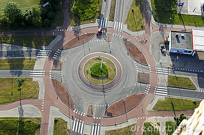 Roundabout from above