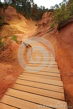 Free Roussillon, Provence Stock Photography - 47014322
