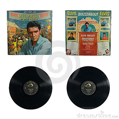 Roustabout album Editorial Stock Image