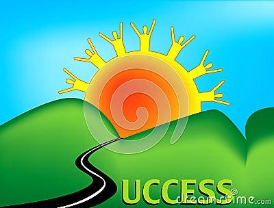 Route à la réussite