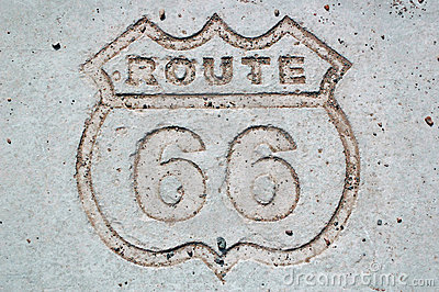 Route 66 Editorial Image