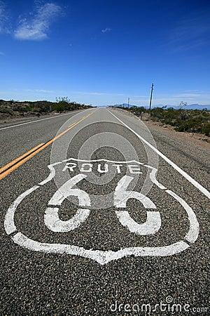 Free Route 66 California Stock Photos - 5907163