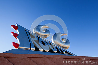 Route 66 Monument Editorial Photography