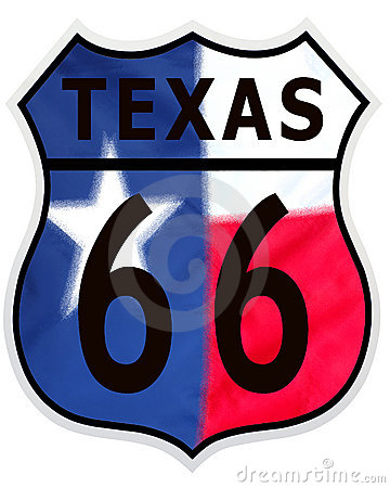 Route 66 Texas Color