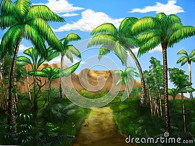 Route de jungle
