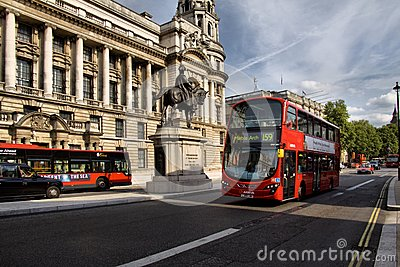 Routemaster double decker bus Editorial Image