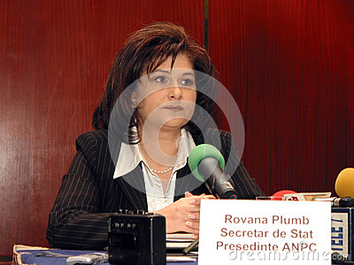 Rovana Plumb Editorial Image