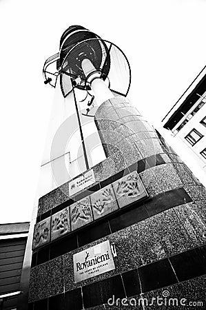 Rovaniemi, Finland town center