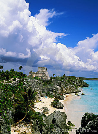 Rovine mayan di Tulum