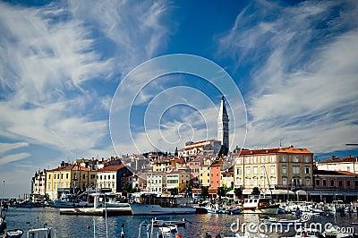 Rovinj, Kroatien.