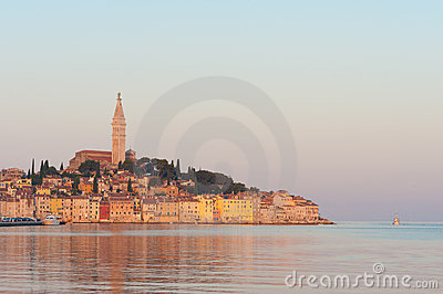 Rovinj old town, Adriatic coast