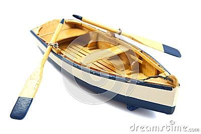 Row boat Stock Photo