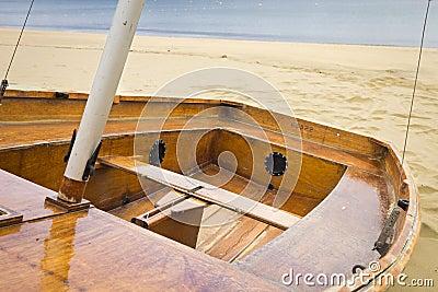 Row boat, small yacht
