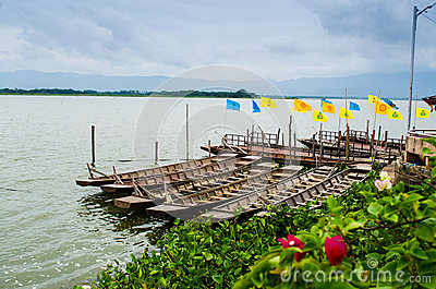 Row boat in thailand
