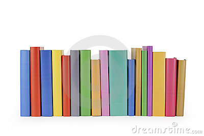 Row of books