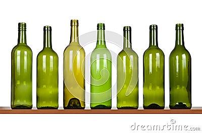 Row of bottles