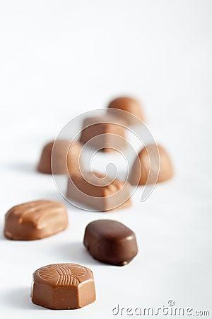Row of Chocolates