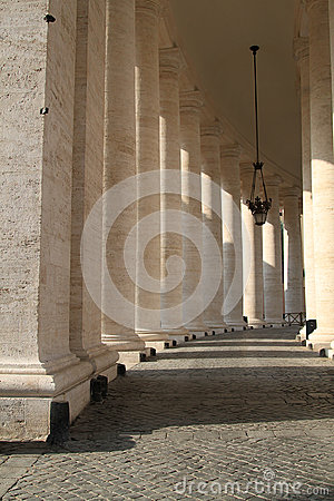 Row of column