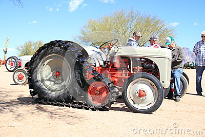 Antique American Tractor: Ford Crawler - Model 8N (1948) Editorial Photo