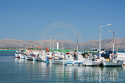 Row of Fishing Boats