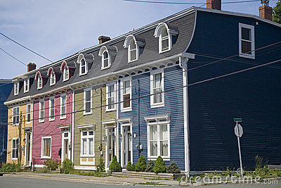 Row Houses St. John s, Newfoundland