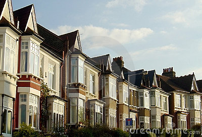 Row of London Houses
