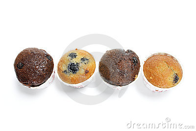Row of Mini Muffins