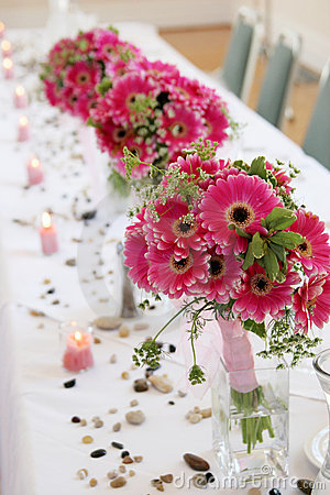 Free Row Of Bouquets Royalty Free Stock Image - 4201616