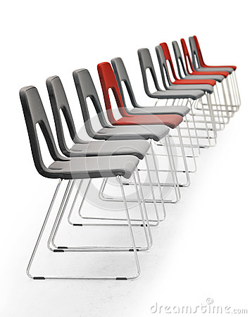 Free Row Of Chairs Stock Image - 30405891
