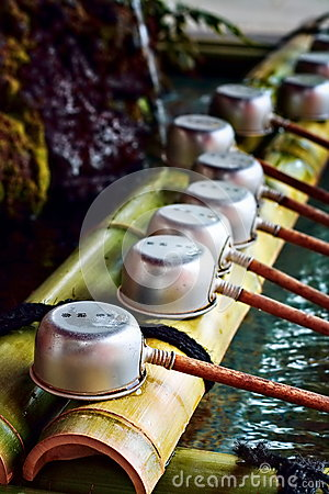 Japanese purification ladles