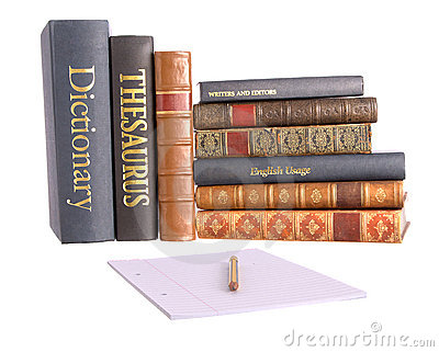 Row Of Reference Books Royalty Free Stock Image - Image: 7849646