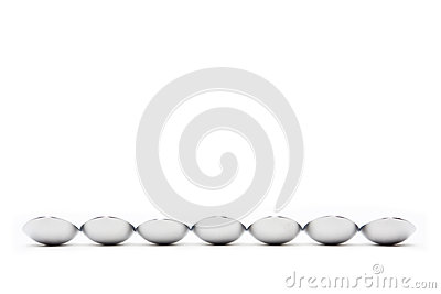 Row of Spoons