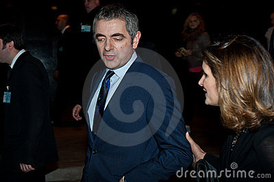 Rowan Atkinson Editorial Stock Image