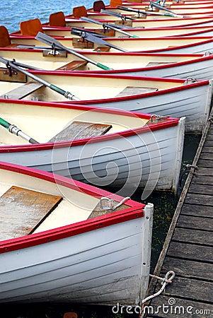 Free Rowboats Stock Photography - 3012502