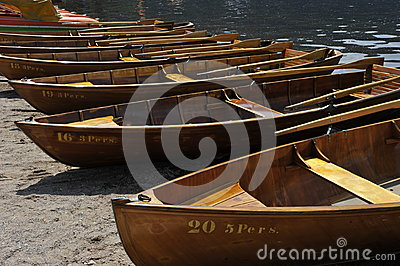 Rowboats for Tourists