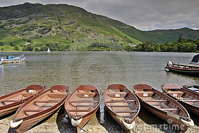 Rowboats on Ullswater