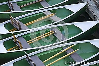Rowboats waiting