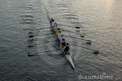 Rowers on the river (II)