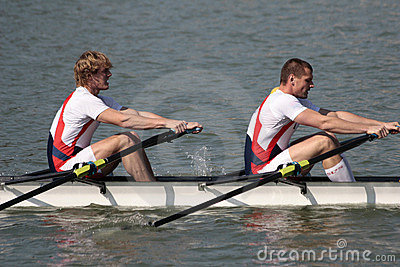 Rowing Editorial Stock Photo