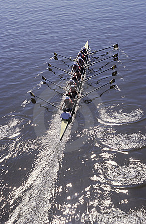 Free Rowing Royalty Free Stock Photo - 2191955