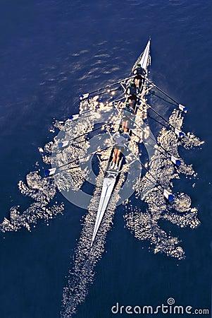 Free Rowing Royalty Free Stock Image - 725096