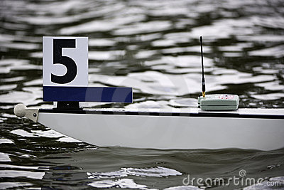 Rowing boat bow